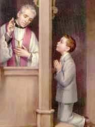 child-confess-kneel