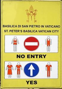 VaticanDressCode